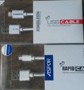 Кабель USB samsung, iphone, type-c