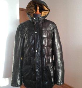 Куртка кожаная Fontanelli