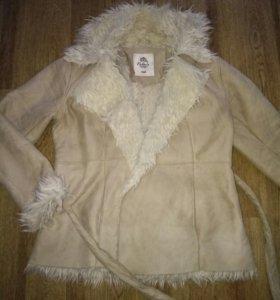 Куртка-дубленка(весна-осень)
