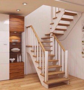 Лестницы в коттеджи и дома