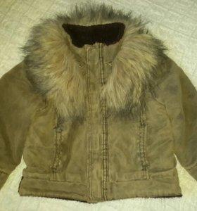 Теплая деми куртка