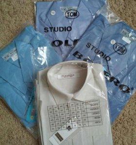 Рубашки новые. Размер от 92 до 164