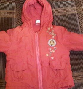Куртка на девочку размер 74
