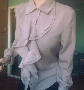 Блузка + брошь в подарок ❗️
