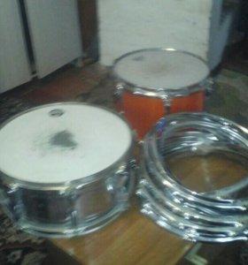 """Малый барабан, том 12"""", обручи"""