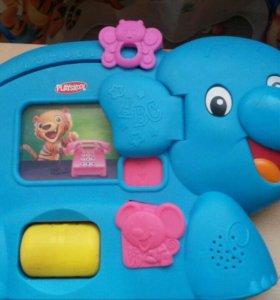 Обучающая игрушка Смышленый слоник