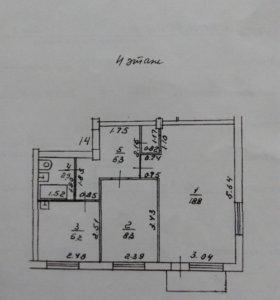 Квартира 2 комнатная ДЕШЕВО
