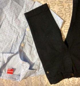 Рубашка и джинсовые брючки, турция