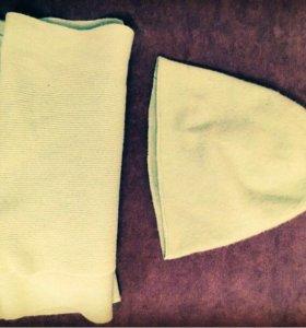 Шапка и шарф комплект Benetton