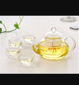 Чайник стекло
