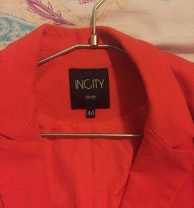Пиджак красный incity