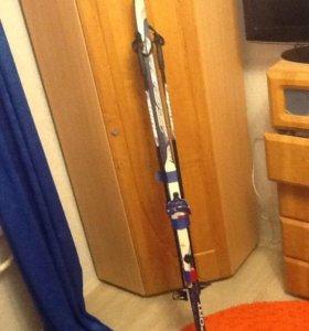 Лыжи пластиковые SABLE длина 170 см