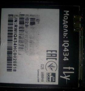 Телефон для запчаст Модель fly lQ434