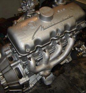 Двигатель от автомобиля москвич