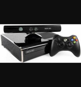 Xbox 360(4гб)+Kinect+Геймпад