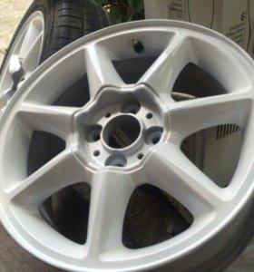 Диски Kalina Sport 2 r15+ резина Pirelli Cinturato