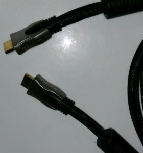 HDMI 5 метров - КАБЕЛЬ, ПРОВОД, ШНУР HDMI-HDMI 5М