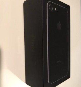 iPhone 7, jet black, чёрный оникс