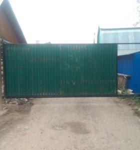 Ворота откатные с автоматикой doorhan