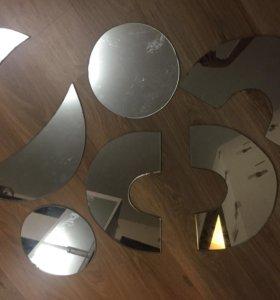 Зеркала для фуршетов