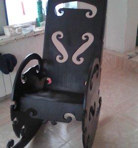 Взрослое кресло-качалка