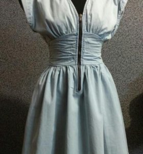 Платье (тонкая джинса)