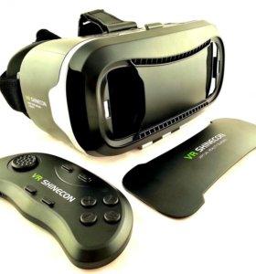 Очки 3D с геймпадом для смартфона