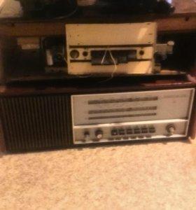 Радио магнитола Рекорд 301