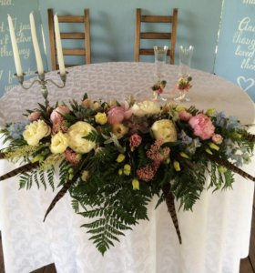 Букет невесты, оформитель на свадьбу, флорист