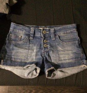 Джинсовые шорты ituma , размер 36(s)