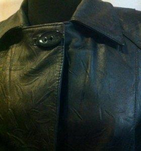 Пальто натуральная кожа + куртка