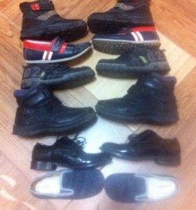 Обувь. 19-20 см, Сапоги, ботинки, макасины , туфли