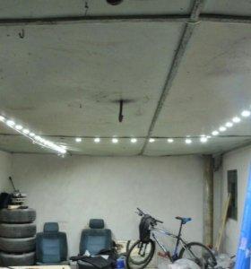 Комплект для освещения гаража, охотничьего домика