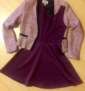 Пиджак и платье  H&M