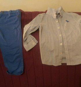 Нарядный костюм.Рубашка+брюки