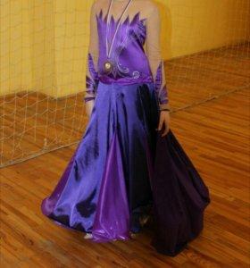 Платье стандарт Ю1 Спортивные, Бальные танцы