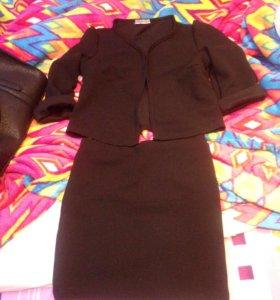 Костюм юбка-пиджак