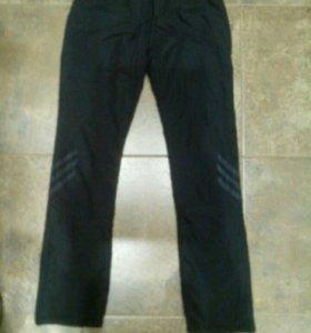 Утеплённые брюки новые