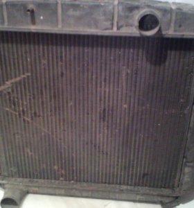 Радиатор на ЗИЛ-133медный ,3-х рядный лрз 133-