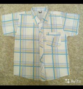 Рубашка на мальчика новая