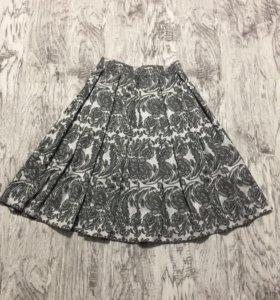 Новая жаккардовая юбка