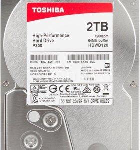 Жесткий диск Toshiba 2Тб