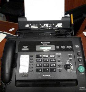 Лазерный факс А4 Panasonic KX-fl423
