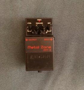 Электро гитара ashto+ педаль эффектов metal zone 2