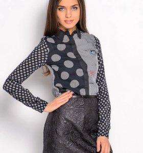 Блузка рубашка desigual S