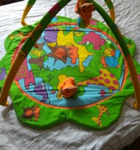 Детский коврик +надувной круг