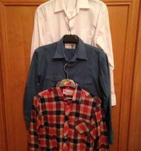 Рубашки на 8-9 лет
