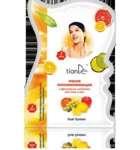 Маска для лица и шеи с фруктовыми кислотами