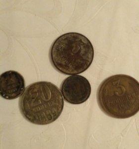 Старые монет 1 штука