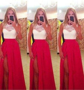 Платье выпуское